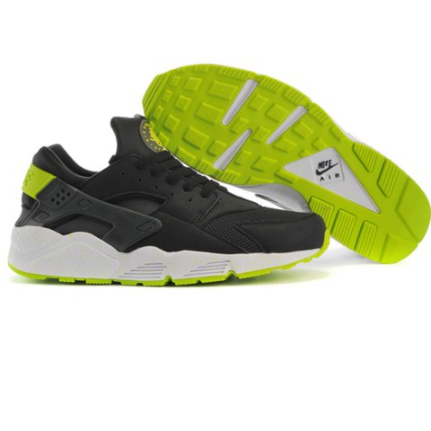 best sneakers 2c29b e3605  taramonx. 2 years ago. London, United Kingdom. Nike air huarache black venom  green ...