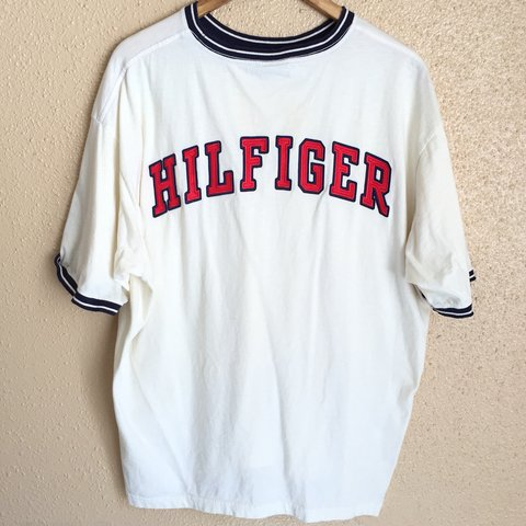 1a50d5bc @houston_thrift. 8 months ago. Houston, United States. Tommy Hilfiger  ringer tee ...