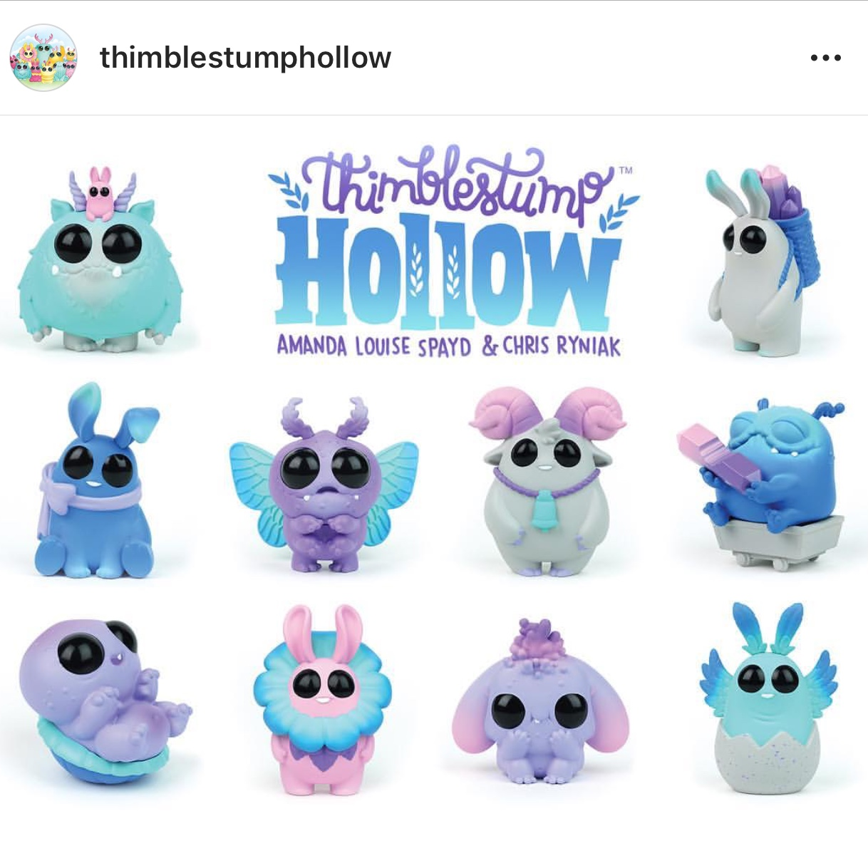 ISO Thimblestump Hollow Blind Boxes  Can be opened