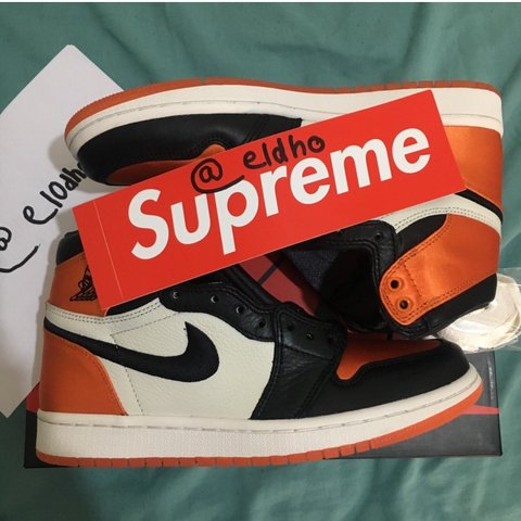 1b72966be94de1 Jordan 1 Satin Shattered Backboard Receipt Will Be Included - Depop