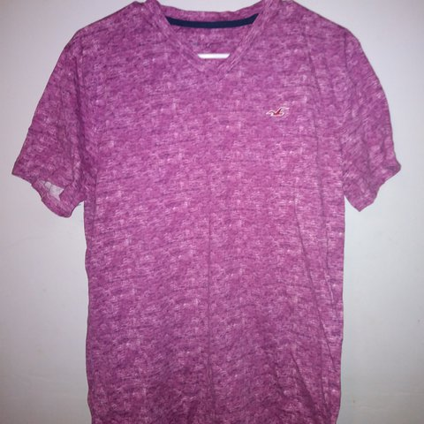 c0366cfe Purple Hollister v neck shirt! It is in excellent condition! - Depop