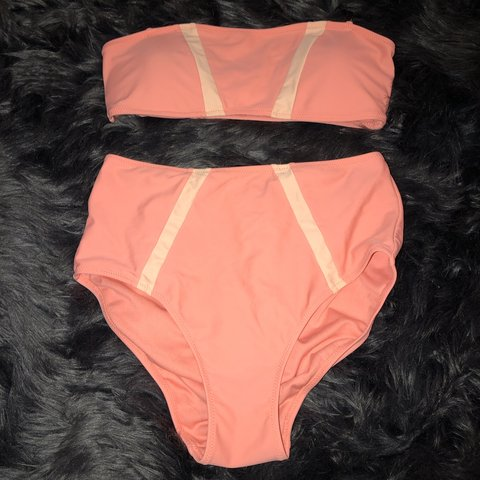 c3972824356a4f Express high waisted bikini! Super cute! - Depop