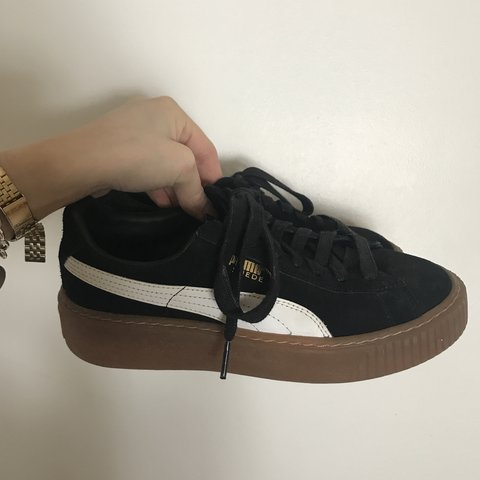 52bd3b531118 Puma Creepers Size US 6! Worn Only Once as Seem in Picture. - Depop
