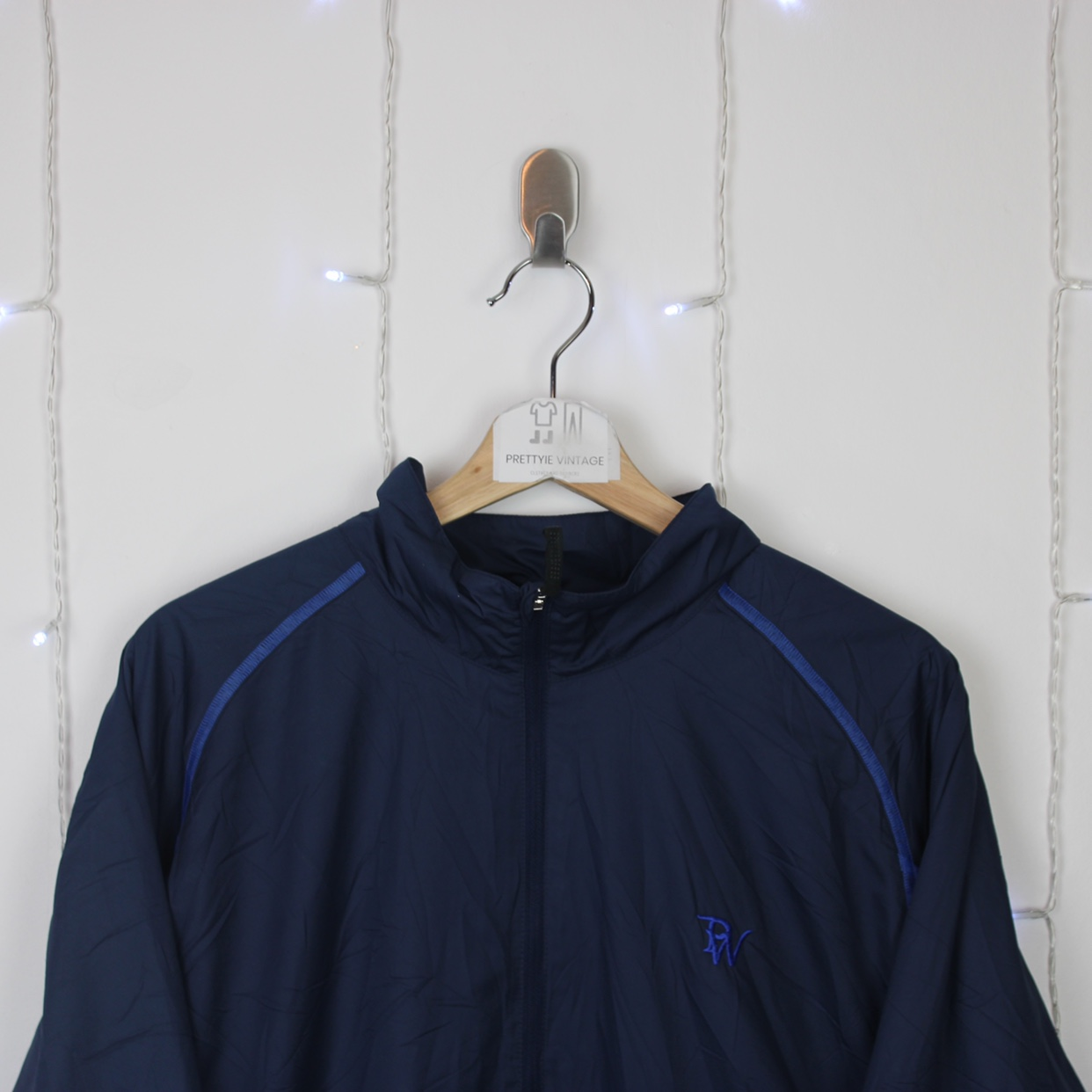 #J16 Vintage Retro Men's Nike Full Zip Track Depop