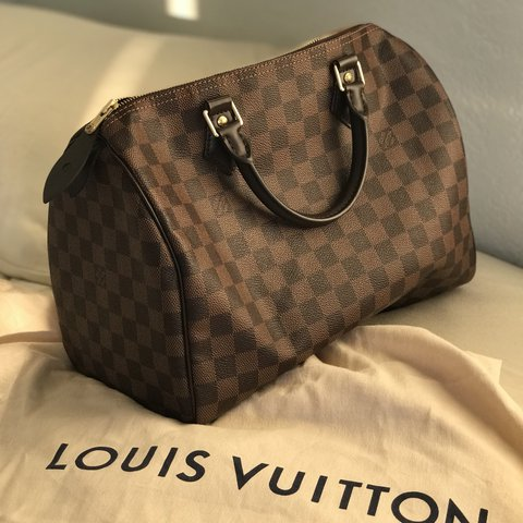 670567d81074 Imágenes de Authentic Louis Vuitton Speedy 30 Damier