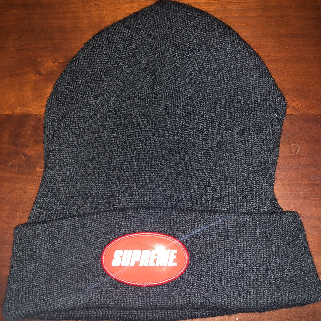 141d6a2cbd1 SUPREME BEANIE SAMPLE Never worn - Depop