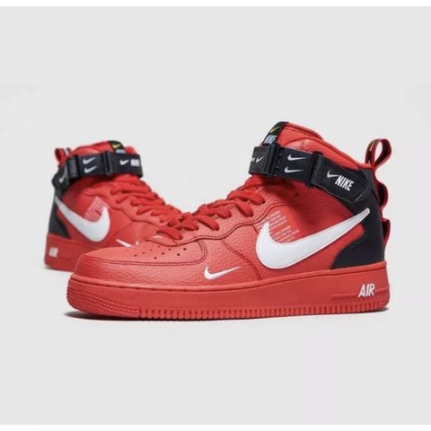 best service 04c9b 7292f Nike Air Force 1 '07 LV8 Utility' Mid SOLD OUT... - Depop