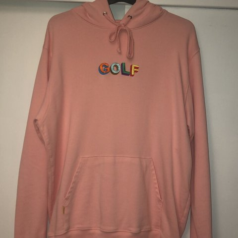1b3f0a773557 Golf Wang Pink Hoodie Perfect condition Comes in original of - Depop