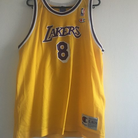 a13704a05a3 8 KOBE BRYANT JERSEY Size S Want to sell ASAP NOTE: me - Depop