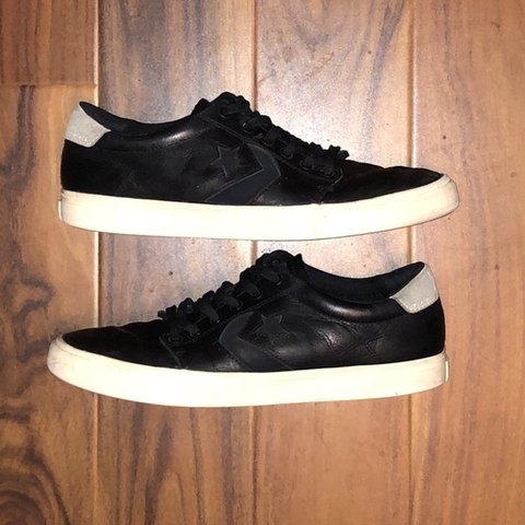 4ea42f40c2b3a8 Converse CONS Kenny Anderson 3 (KA3) Black Leather these are - Depop