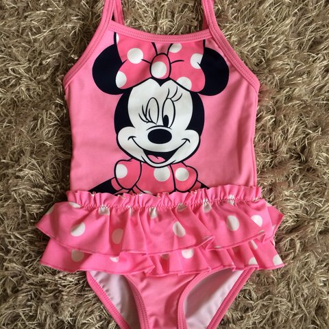 543e5af58c Baby Minnie Mouse swim suit. Never worn, immaculate UK and - Depop
