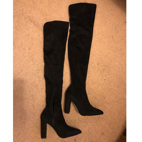 008a5343408 River Island River Island Wide Fit Over The Knee Boot- New - Depop
