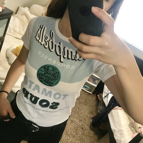 0945775c80 @reeche. 6 months ago. Berkeley, United States. super cute SPRZ NY ANDY  WARHOL graphic baby tee 👶 this shirt is so fun and ...