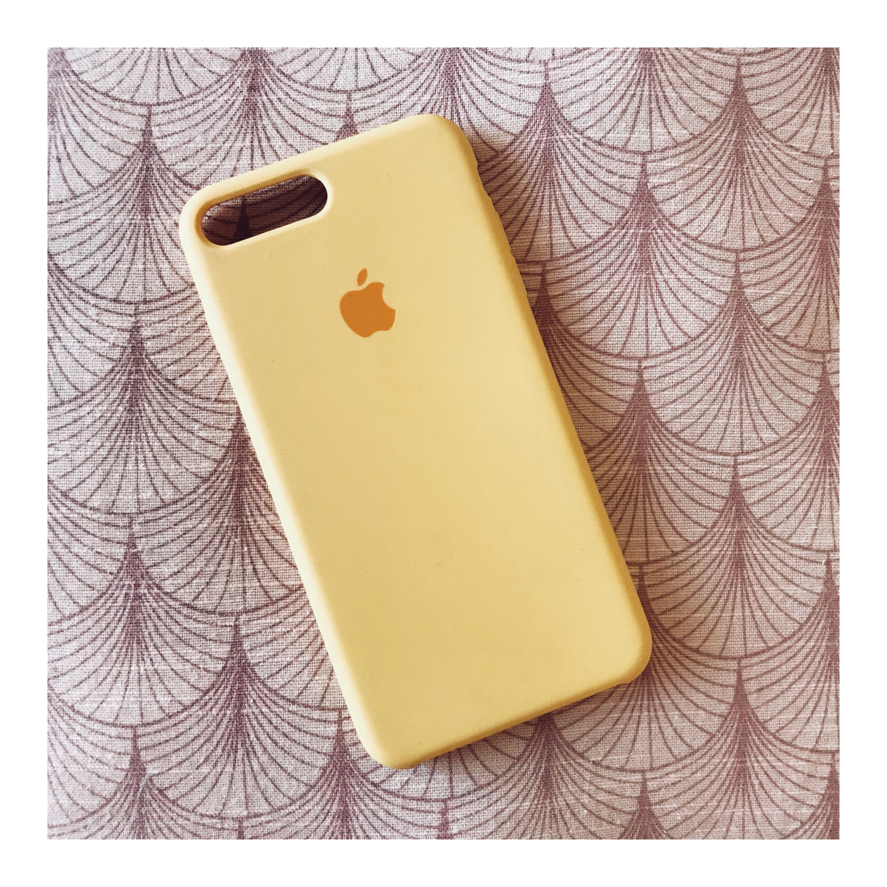various colors 696f2 0b55f Yellow Silicone i-Phone 7 Plus Case Brand new,... - Depop