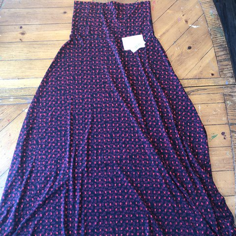 2a2667e74a5b @stephiswan. last year. Red Lion, United States. LuLaRoe XS Maxi Skirt ...