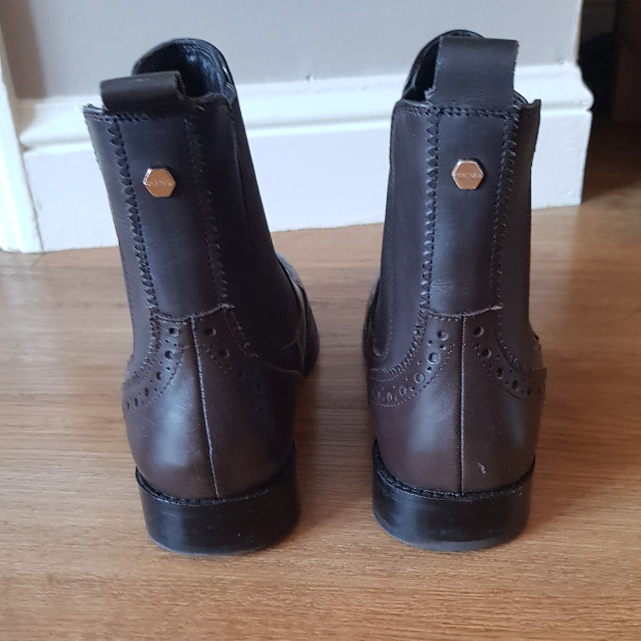 purchase cheap discount collection elegant and sturdy package Carvela Comfort RHEA boots Dark brown UK Size... - Depop