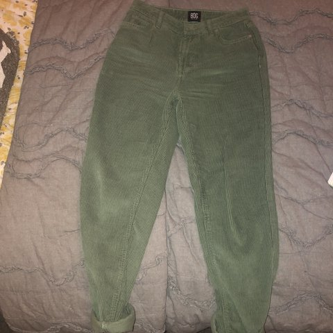 257b05b660cb6f BRAND NEW BDG green corduroy mom high-rise Jeans!! These are - Depop