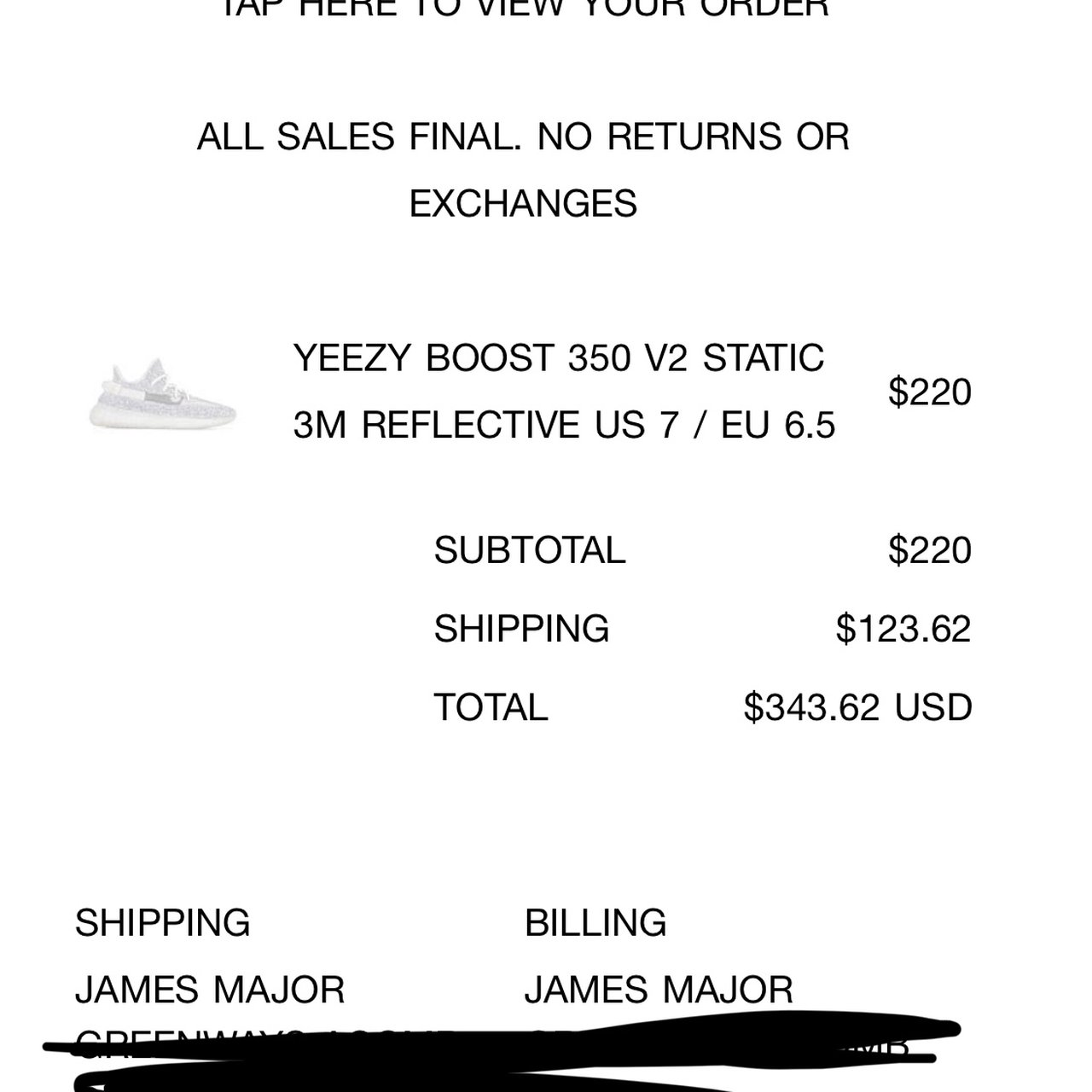 53482fe66 YEEZY BOOST 350 V2 STATIC 3M REFLECTIVE. Yeezy Supply Very a - Depop