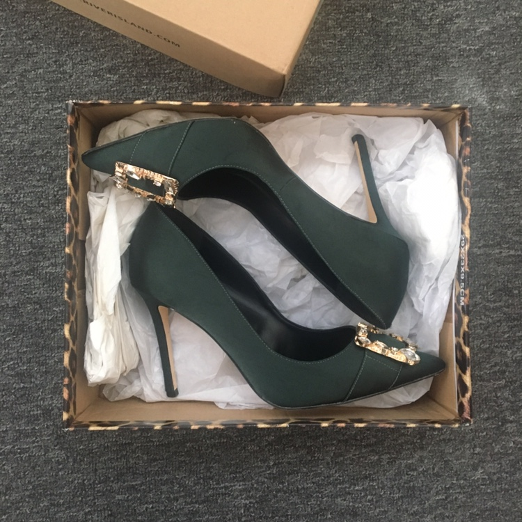 Manolo Blahnik style shoes from River