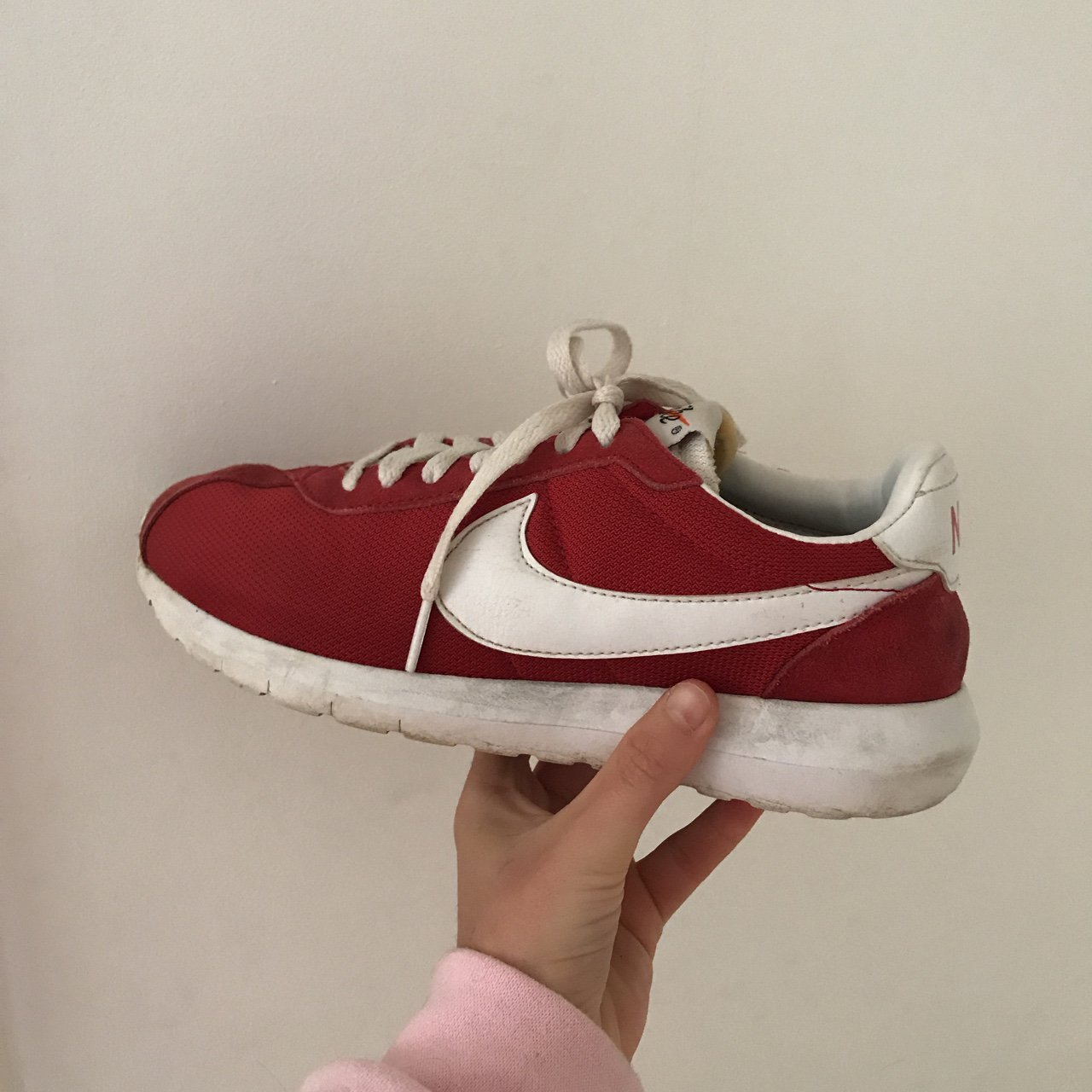 Nike Roshe Cortez . Colour   red Size   5 Brand   Nike . - Depop a2fb9c1d1798
