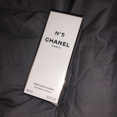 92f5333e940c @shaunakennyxo. 10 hours ago. Manchester, United Kingdom. No5 Chanel Body  Lotion NEVER been opened - still has seal