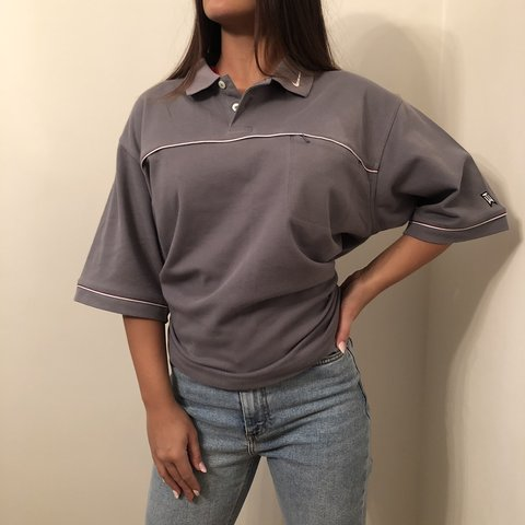 16596530d @must4rd. 6 months ago. Bilston, United Kingdom. NIKE TIGER WOODS Grey Polo  Shirt • Great Condition
