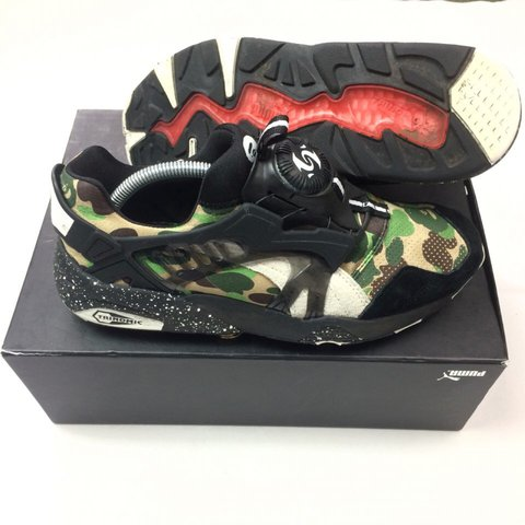 16dd61cd4a7d  oliversarchive. 2 years ago. United Kingdom. Bape x Puma Disc Blaze • UK 8  ...