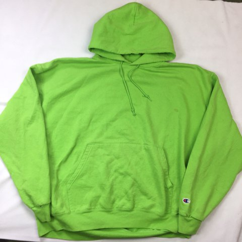 great discount for buy real choose best Champion Lime Green Hoodie • XXL • Minor Mark 🚫NO... - Depop