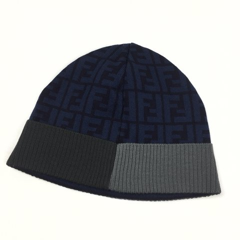 8b1522244e7a  oliversarchive. last year. United Kingdom. Fendi Zucca Print Beanie • One  size fits all 🚫NO OFFERS OR TRADES🚫