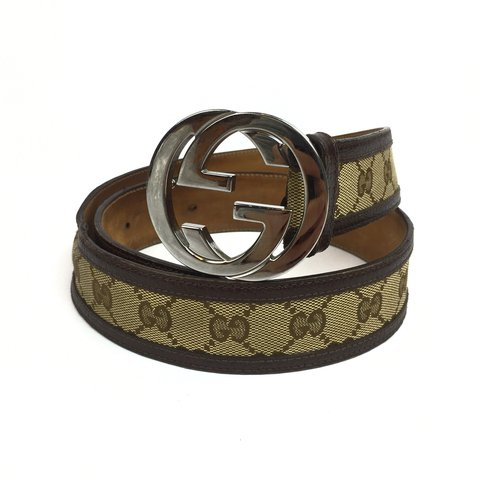 c72ee3fa411  oliversarchive. last year. United Kingdom. Authentic Gucci Monogram Belt  ...