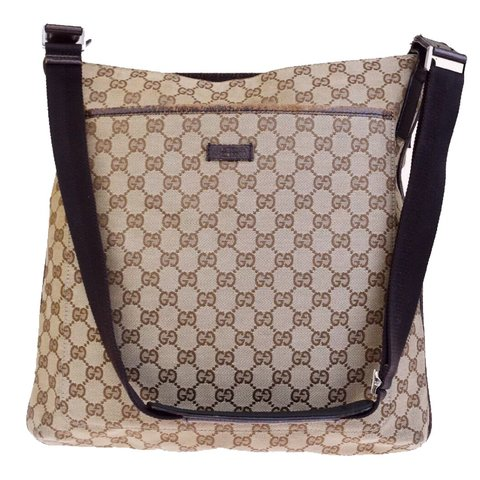 d0b2ad9b0e1  oliversarchive. in 23 hours. United Kingdom. Authentic Gucci Monogram  Large Cross Body Bag
