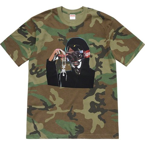 60298fee98d3bb Supreme Creeper Tee Size  Large Color  CAMO Dead Stock - Depop