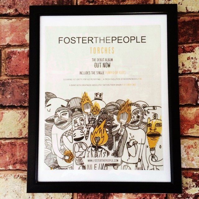 Foster The People Torches Album Magazine Advertisement In Depop