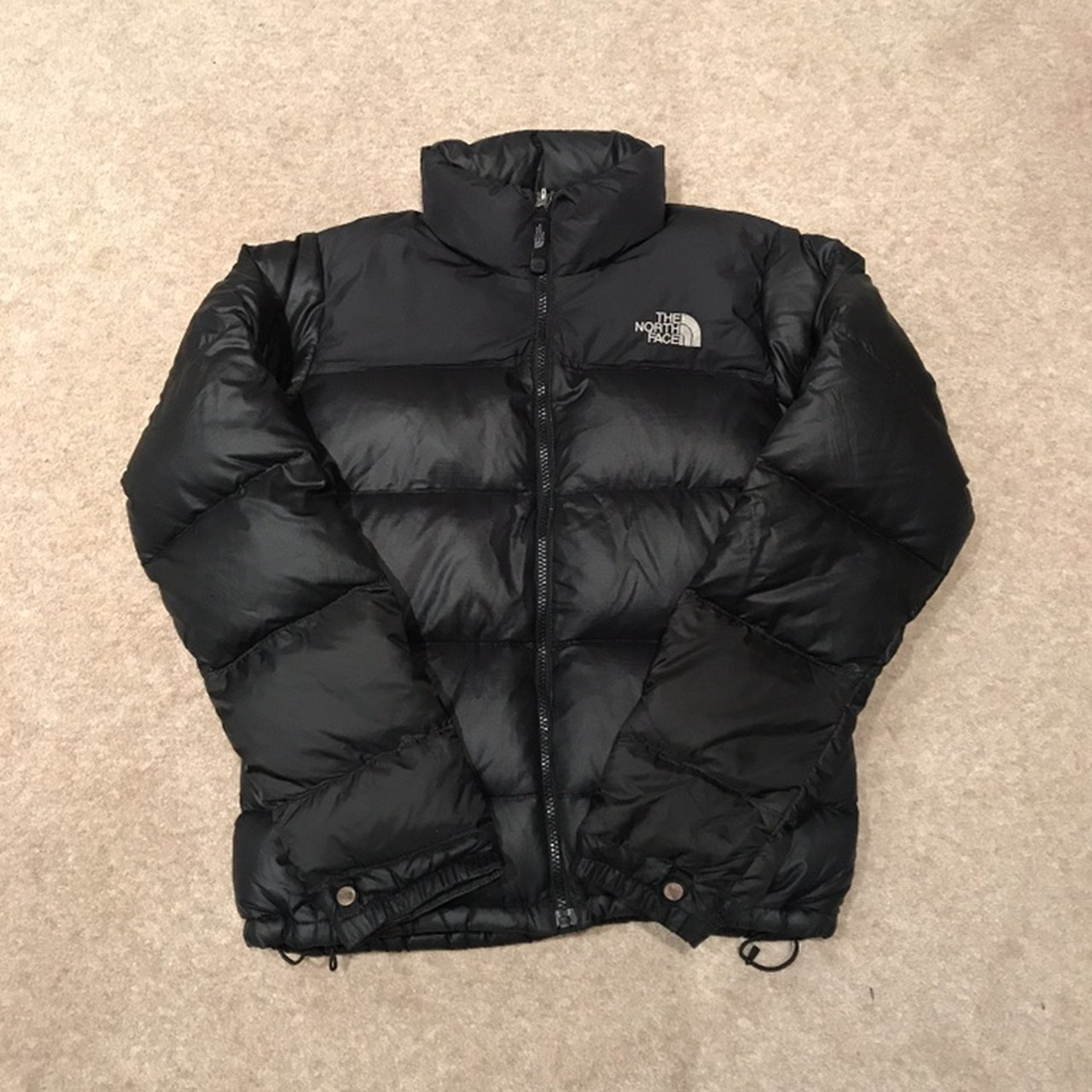 Women s North Face Nuptse Down Size Small Puffer Jacket Very - Depop 47835e6f9