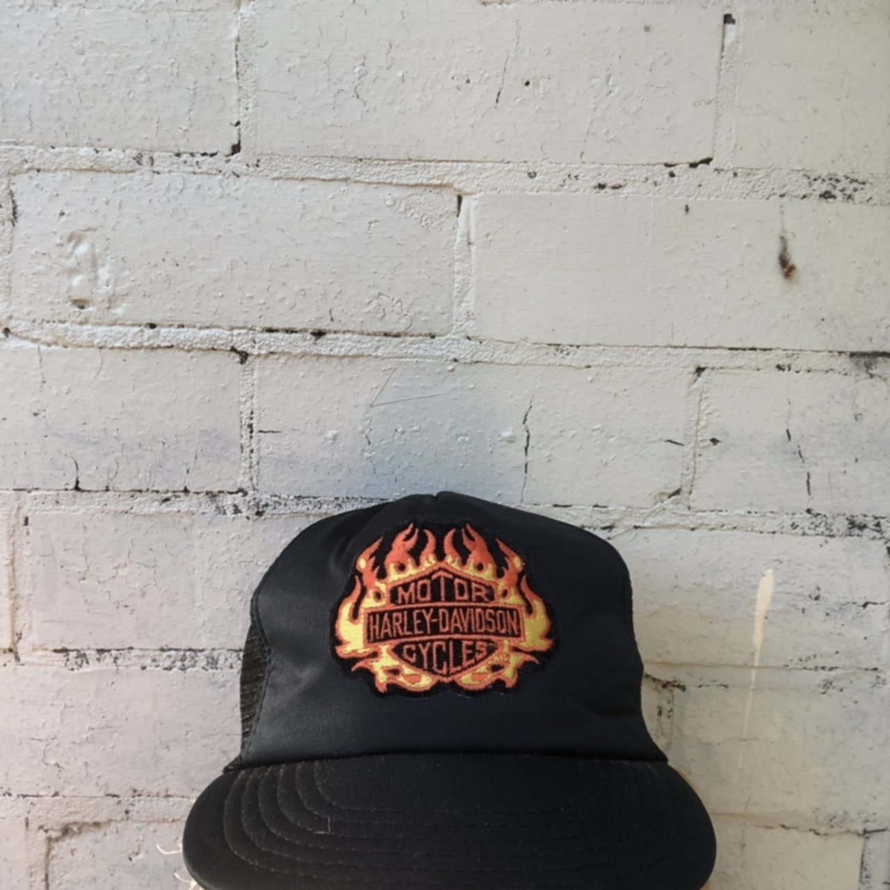 115a4d79cd2a9 Harley Davidson trucker hat Great condition