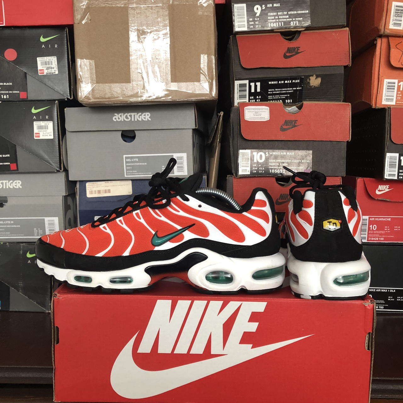 Nike Air Max Plus Tn Team Orange Neptune Green Depop
