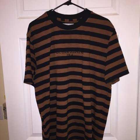 0f74ea5ec5d6 @vintagefiend97. 7 months ago. Los Angeles, United States. Guess Jeans USA  stripes shirt in the black and brown ...