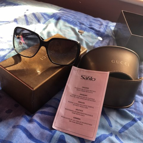 b7943ee97f0 Authentic Gucci Sunglasses for Sale. Comes in original with - Depop