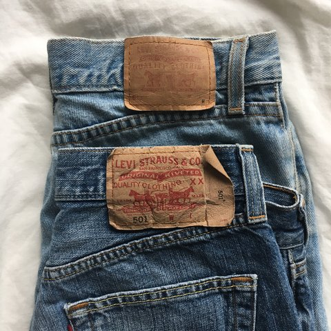 dca05654 @natboyce. 7 months ago. New York, United States. PRICE DROP!! Authentic  Vintage Levi's 501 cutoff shorts.