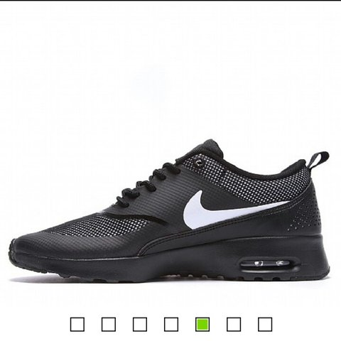 timeless design 2fe9a 121f6  niasha. 3 years ago. Nottingham, UK. LOWERED PRICE - Nike Womens Air Max  Thea Trainers in Black and ...