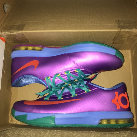 4477ff814c8 Nike KD 6 Rugrats Size  7Y (boys) is a size 8.5 in (woman s) - Depop