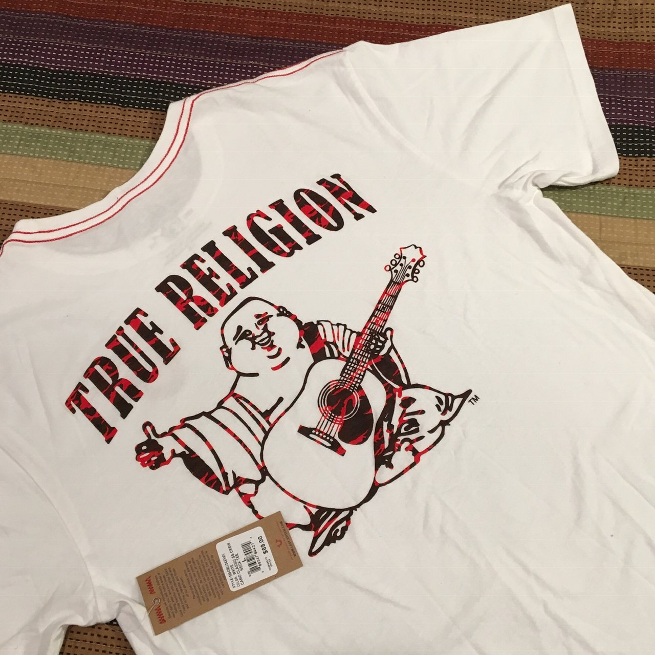 a94979c5f New with Tags True religion t shirt. Size Large. True Red - Depop