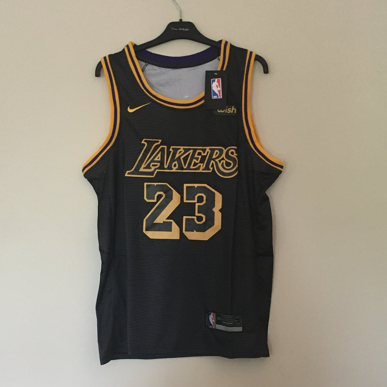 b4c4e769e @basketballjerseys_ireland. 10 months ago. Ireland. - LA Lakers alternative  jersey - #23 Lebron James