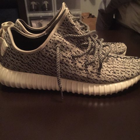 b12130f869c Yeezy turtle doves 7 10 condition Unbeatable price - Depop