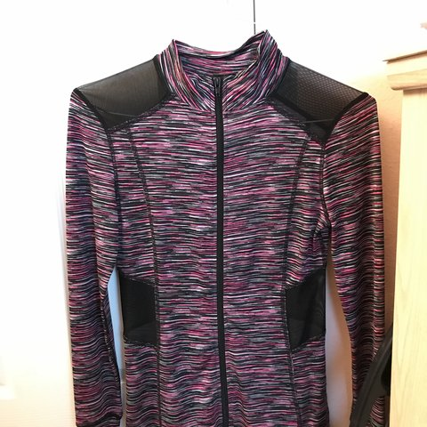 e209c1e539c7b Sports light zip up jacket from macys I think. It s pink and - Depop