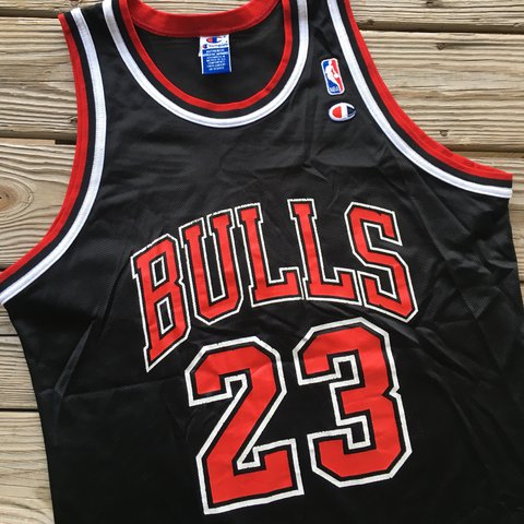 3f89af46ab1 @nc_vintage_apparel. last year. Raleigh, United States. Vintage Michael  Jordan Jersey Amazing 90's Chicago Bulls ...