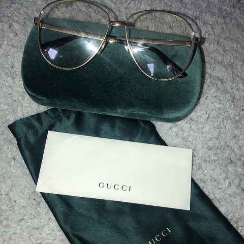 5b35a02d12e Gucci glasses as seen on Conor McGregor. Purchased for £250 - Depop