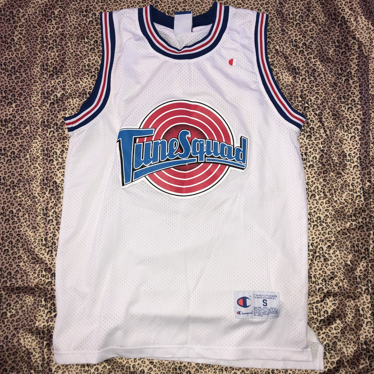 buy popular e2822 dc5fd 90s Space Jam Tune Squad Champion Basketball Jersey ...