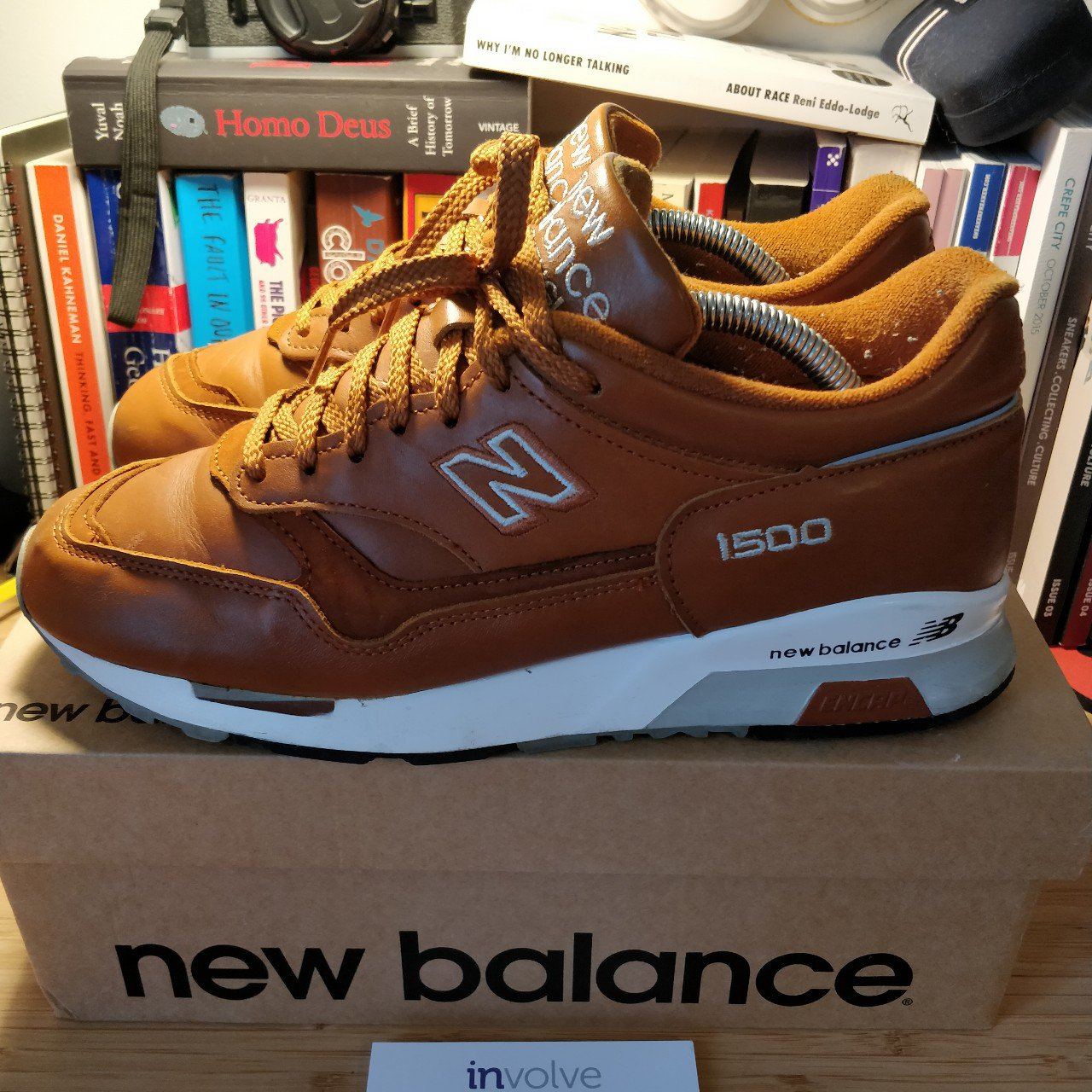 New Balance 1500 curry leather UK8 Used insoles (no on and - Depop c8cace1d4