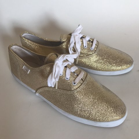 25a395dbedde @mother_vintage. 2 months ago. Clarksville, United States. uhhhhh mazing 80's  90's vintage gold glitter tennis shoes